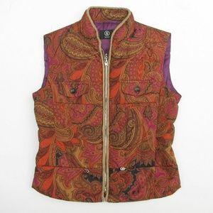 BOGNER Paisley Goose Down Puffer Vest